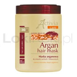 Argan Hair Mask maska arganowa 1000 ml Leo