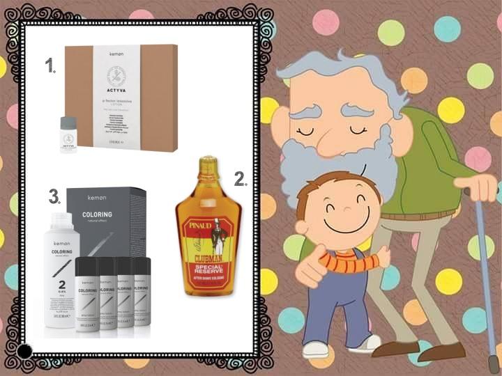 Produkty dla mężczyzn na dzień dziadka