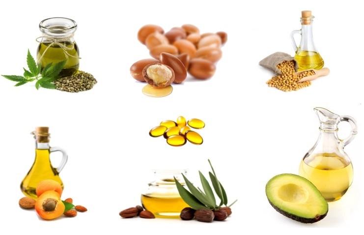 Różnego rodzaju olejki