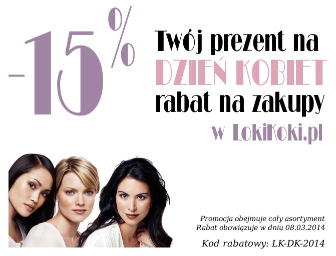 Rabat 15% na zakupy - kod rabatowy LK-DK-2014