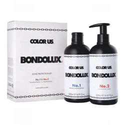 Bondolux No.1 + No.2 Bond Protection Kit zestaw 2 x 500 ml Color Us